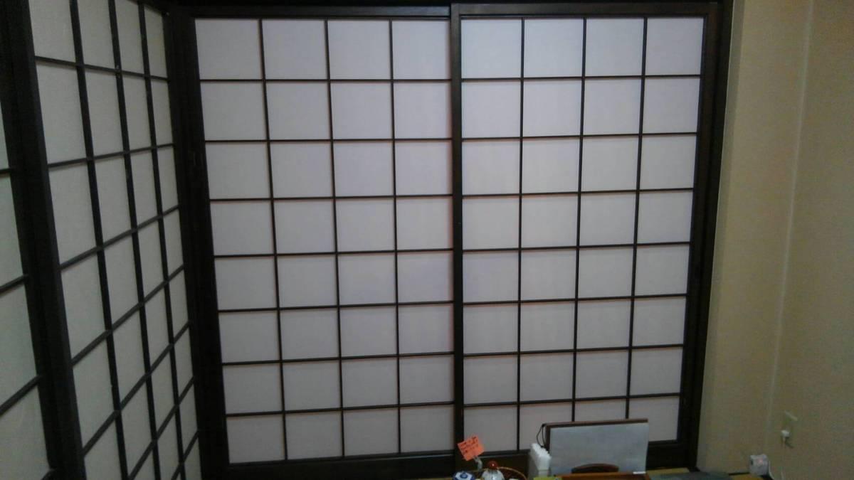 徳島市 沖浜にて障子の張り替えです。 | 徳島のリフォーム店 ...